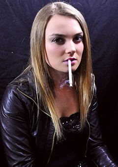 Naughty Teen Smoking