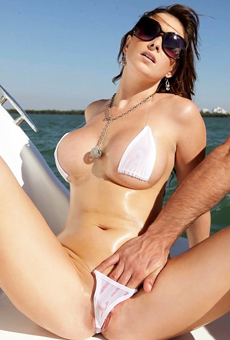 Ashlee Raine in Boat Love
