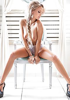Blonde Model Oksana